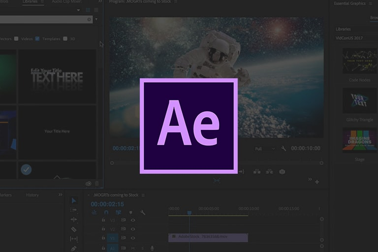 After Effects:  Foundation Course